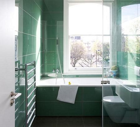 Baños en verde