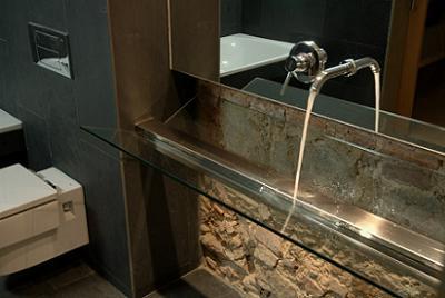 Tendencias en lavabos de dise o lavabos en vidrio - Lavabo de vidrio ...