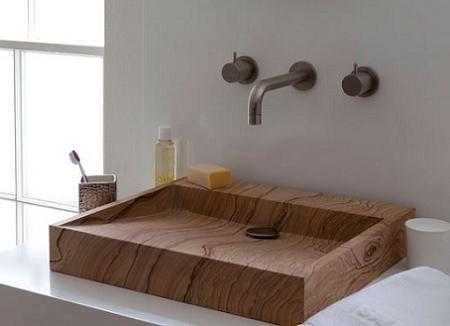 Lavabos de madera decoraci n for Lavabo madera