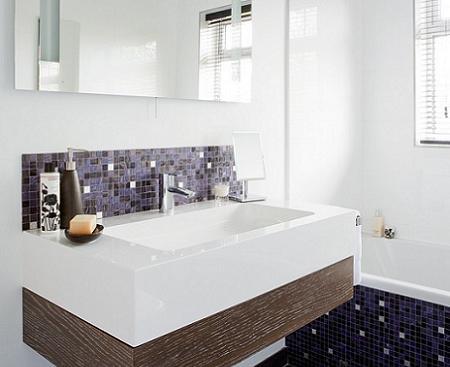 Azulejos para ba os en el lavabo decoraci n - Alicatados para banos ...