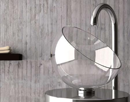 Lavabos de cristal decoraci n for Lavabo vidrio