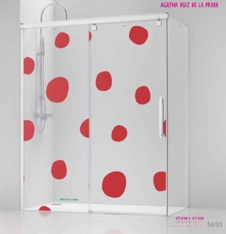 Mamparas de ducha decoradas decoraci n for Mamparas decoradas