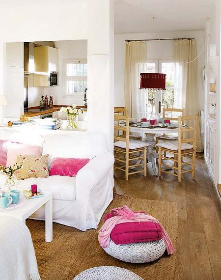 Casa de campo decorada en blanco decoraci n for Casas de campo decoracion interior