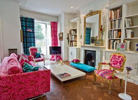 Apartamento de dise o de inspiraci n vintage en - Decoracion de interiores vintage ...