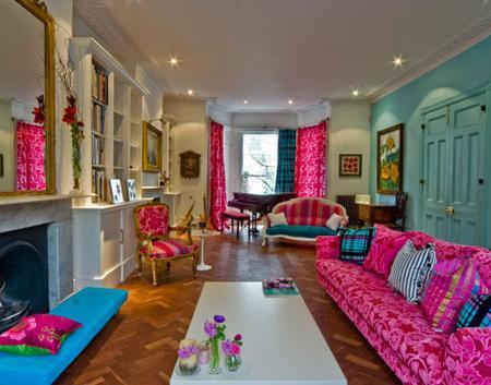 Apartamento de dise o de inspiraci n vintage en for Diseno de interiores vintage