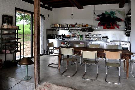 Casa de campo de estilo industrial decoraci n for Casas de estilo industrial