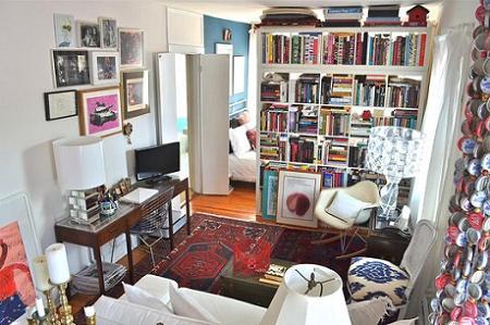 Decoración de casas pequeñas: un clásico en la separación de ...