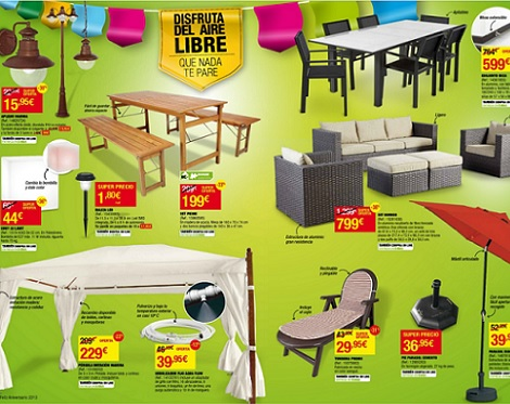 Decoracion mueble sofa agosto 2013 - Mesas y sillas leroy merlin ...