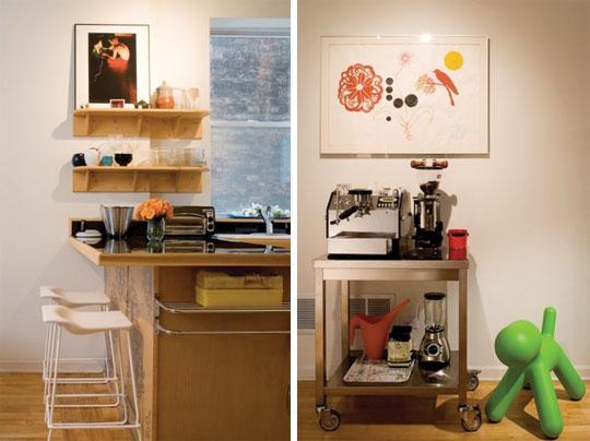 Decoraci n ejemplos de cocinas peque as bien resueltas y - Como amueblar la cocina ...