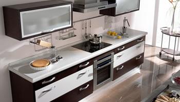 Decoraci n ejemplos de cocinas peque as bien resueltas y - Ejemplos cocinas pequenas ...
