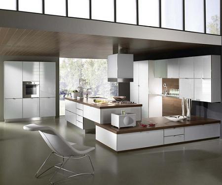 Fotos de cocinas de dise o de amplias dimensiones for Diseno de cocinas fotos