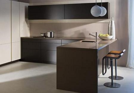 Cocinas con pen nsulas tendencias e ideas para hacer tu cocina m s pr ctica decoraci n - Cocinas con peninsula ...