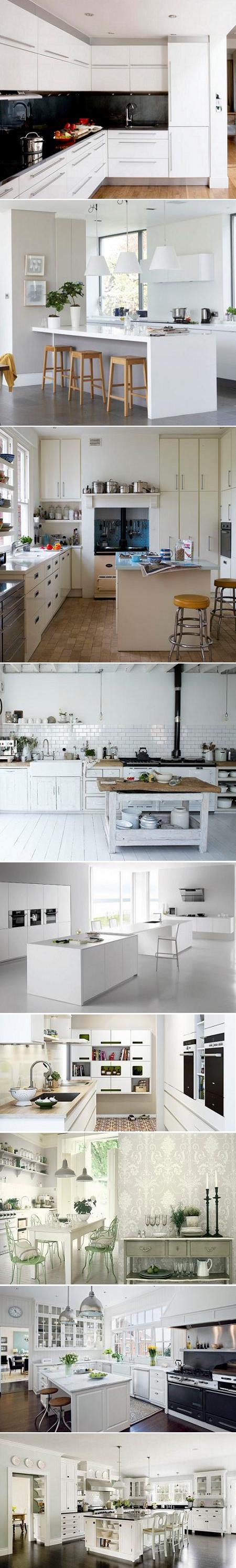 Decoraci n 20 cocinas en color blanco - Cocinas en color blanco ...