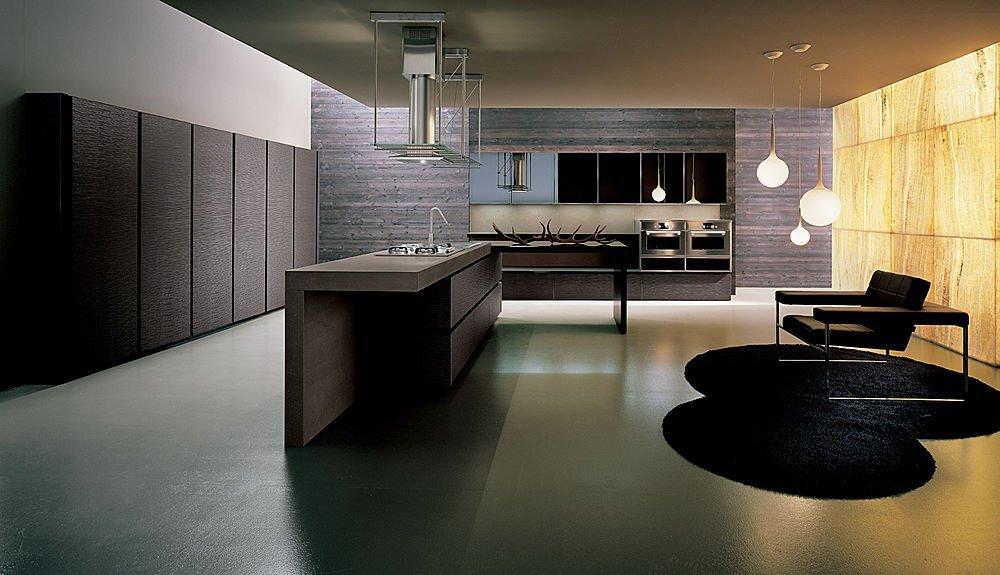 Decoraci n cocinas con muebles de madera cl sicas y modernas - Cocina moderna madera ...