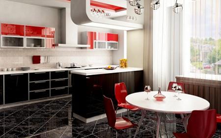 10 Cocinas En Color Rojo Decoracion - Cocinas-en-rojo