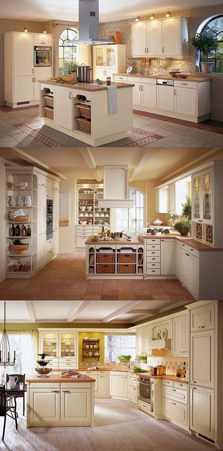 Un repaso por los principales modelos y tendencias de for Islas en cocinas rusticas