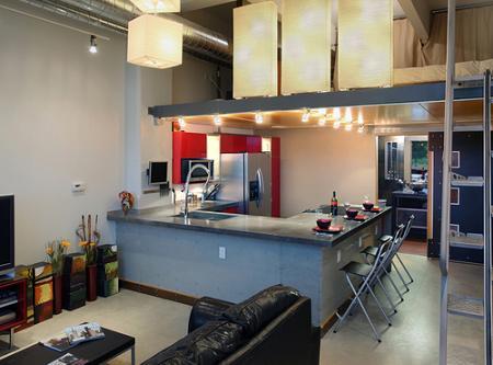 La cocina americana decoraci n for Cocina americana y salon