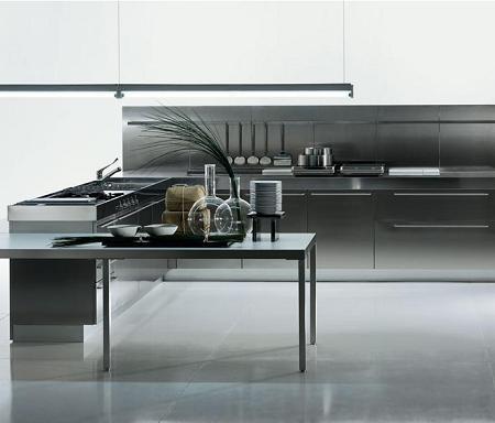 Muebles de acero inoxidable para tu cocina decoraci n for Articulos acero inoxidable para cocina