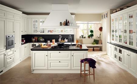 Cocinas blancas decoraci n - Aran cucine prezzi 2016 ...