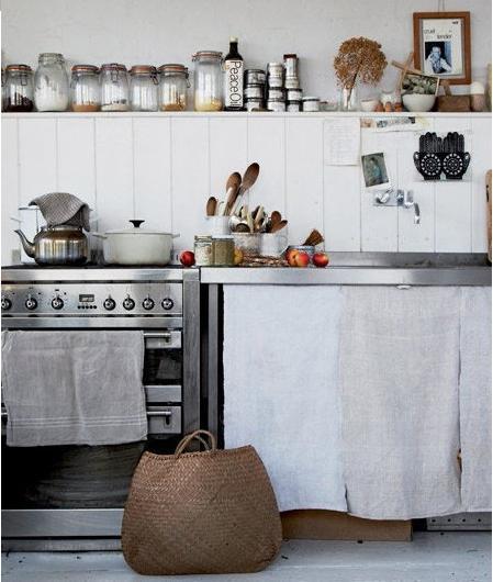 Una cocina vieja