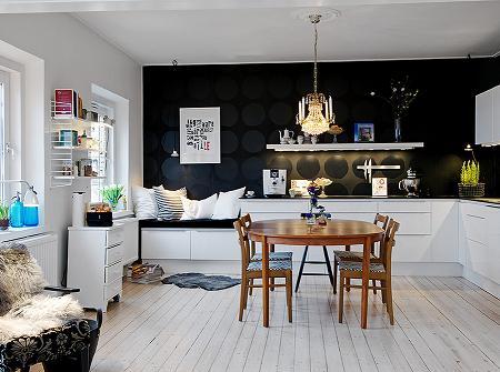 Cocina comedor y sal n decoraci n for Cocinas y salones abiertos