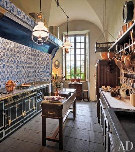 Fotos de inspiraci n de cocinas r sticas decoraci n - Azulejos cocinas rusticas ...