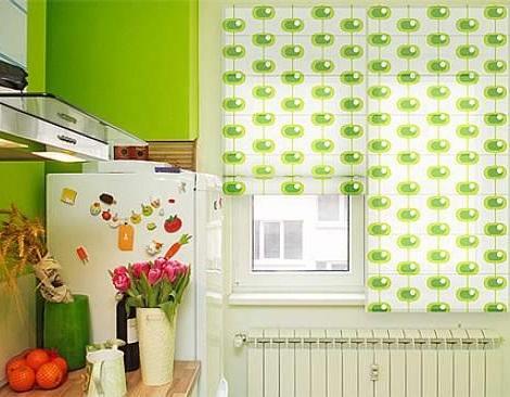 Diferentes estilos de cortinas para darle elegancia a tu for Estores de cocina modernos