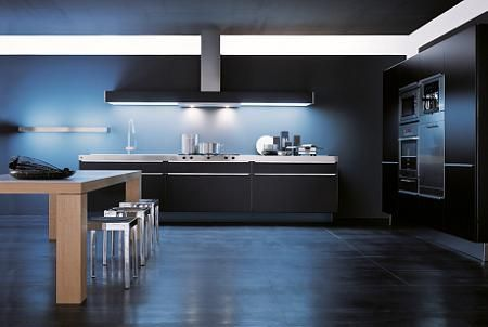 10 cocinas en color negro decoraci n