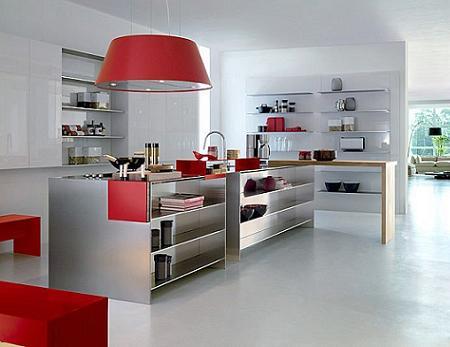 Muebles de acero inoxidable para tu cocina decoraci n for Cocinas de acero inoxidable para restaurantes