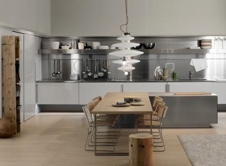 10 cocinas en colo gris
