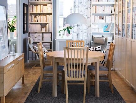 5 mesas de cocina baratas for Mesa redonda cocina ikea