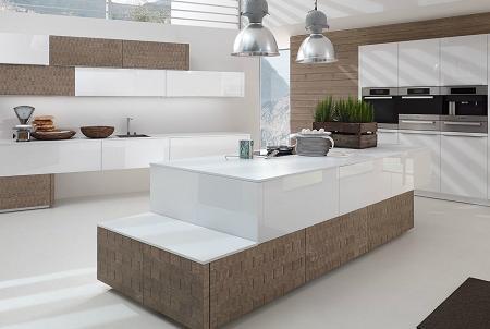 Cocinas modernas de madera decoraci n for Cocina moderna madera