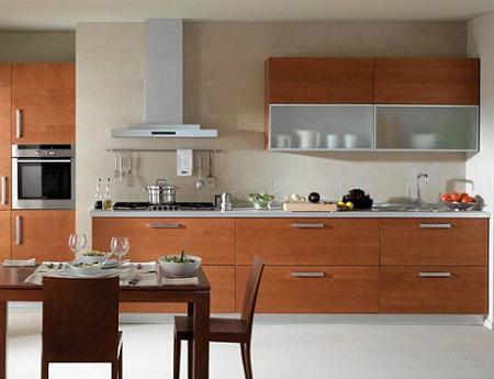 Cocinas modernas en madera imagui for Cocinas claras modernas