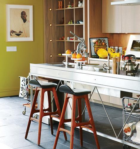 Decoraci n im genes de cocinas modernas for Fotos de cocinas de madera modernas