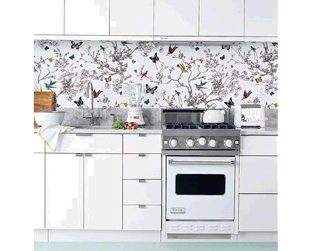 Papel pintado para cocinas decoraci n - Papel pared cocina ...