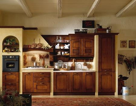 Cocinas r sticas con muebles cl sicos y vintage for Decorar cocinas rusticas