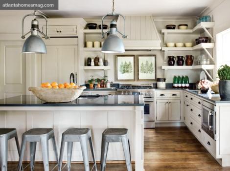 Cocinas rusticas blancas online for Cocinas online