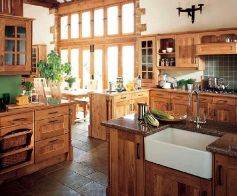 8 im genes de cocinas r sticas decoraci n - Fotos de cocinas rusticas de campo ...