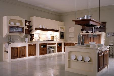 decoracin cocinas con muebles de madera clsicas y modernas