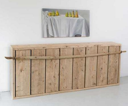 Los muebles de cocina m s r sticos y minimalistas de for Muebles minimalistas para cocina