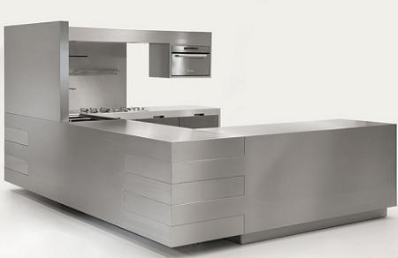 Muebles de acero inoxidable para tu cocina decoraci n for Accesorios para cocina en acero inoxidable