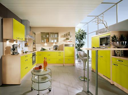 Decoraci n cocinas amarillas - Cocinas amarillas ...