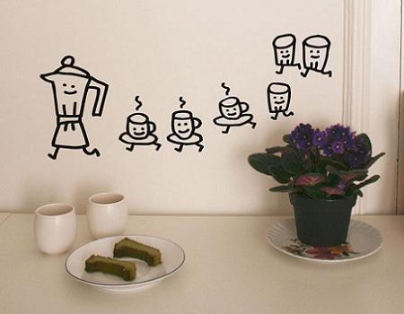 M s vinilos decorativos para cocina decoraci n - Papel de vinilo para cocinas ...