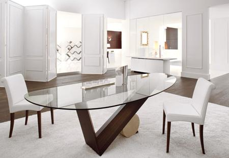 Las mesas de comedor m s innovadoras y chics de cattelan - Mesas de salon plegables ...