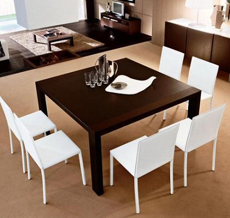 15 ejemplos de comedores con estilo bien resueltos for Decoracion para mesa de comedor