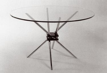 Formas innovadoras decoraci n for Mesa cristal oca
