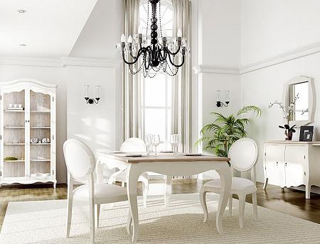 Comedores vintage con mesas extensibles – Decoración