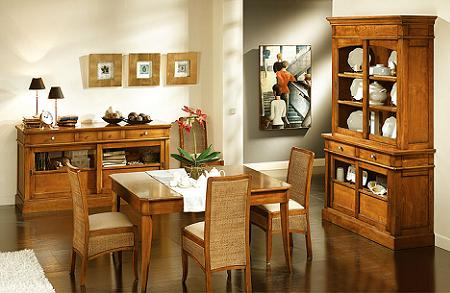 10 comedores cl sicos decoraci n for Decoracion living comedor chico