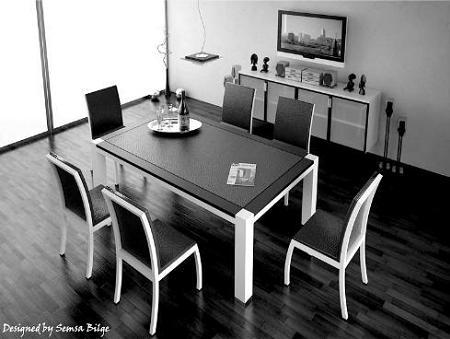 10 comedores minimalistas decoraci n for Comedores minimalistas de cristal