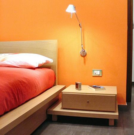 Decoraci n ideas y detalles para crear un dormitorio elegante - Lampara lectura cama ...